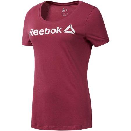 Tricou damă - Reebok REEBOK LINEAR READ SCOOP NECK - 1