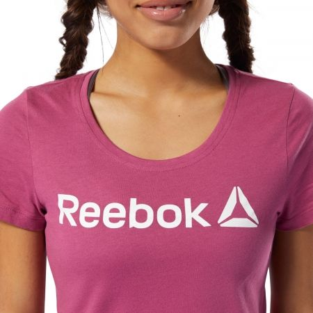 Tricou damă - Reebok REEBOK LINEAR READ SCOOP NECK - 6
