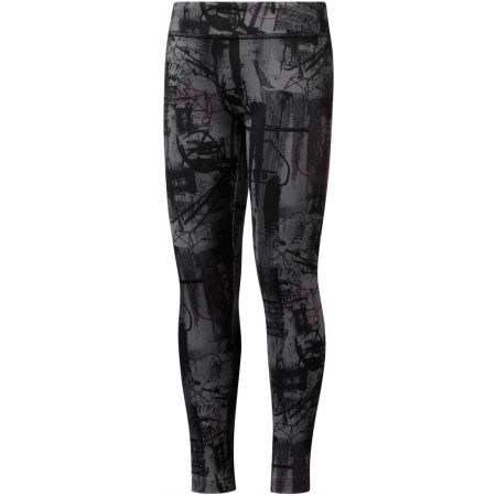 Colanți copii - Reebok GIRLS REEBOK ADVENTURE WORKOUT READY LEGGING - 1
