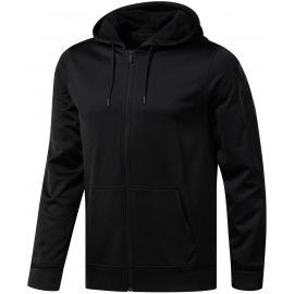 Reebok WORKOUT READY POLY FLEECE FZ HOODIE - Pánská bunda
