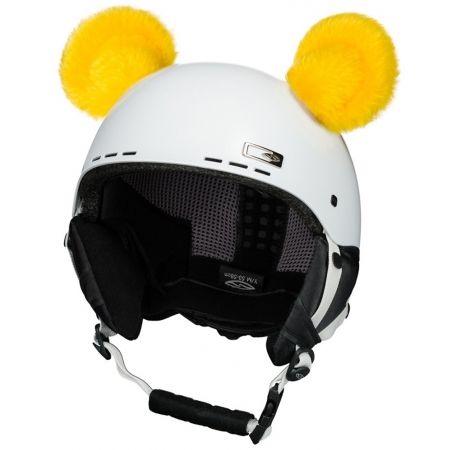 Uši na helmu - Crazy Ears CRAZY UŠI - MEDVÍDEK - 2