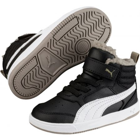 Puma REBOUND STREET V2 FUR PS - Kids' winter shoes