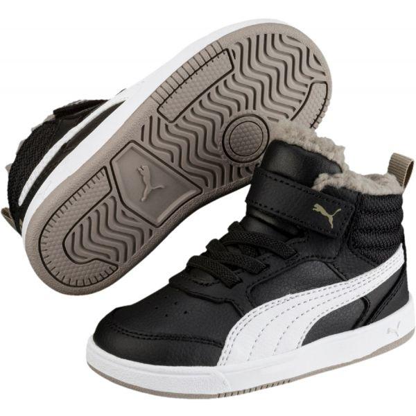 Puma REBOUND STREET V2 FUR PS - Detská zimná obuv