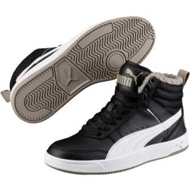 Puma REBOUND STREET V2 FUR JR - Kids' winter shoes