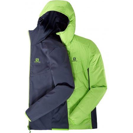 Pánská zimní bunda - Salomon DRIFTER MID HOODIE M - 5