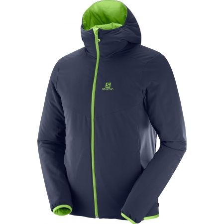 Pánská zimní bunda - Salomon DRIFTER MID HOODIE M - 3