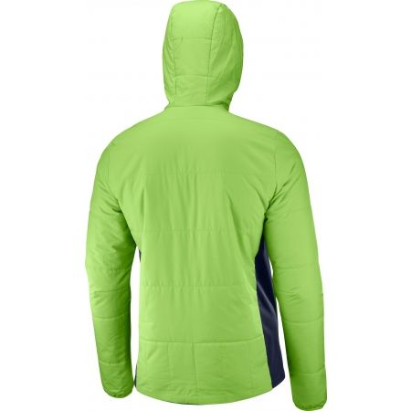 Pánská zimní bunda - Salomon DRIFTER MID HOODIE M - 2