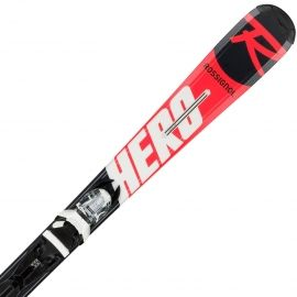 Rossignol HERO JR + XPRESS JR 7 - Dětské sjezdové lyže