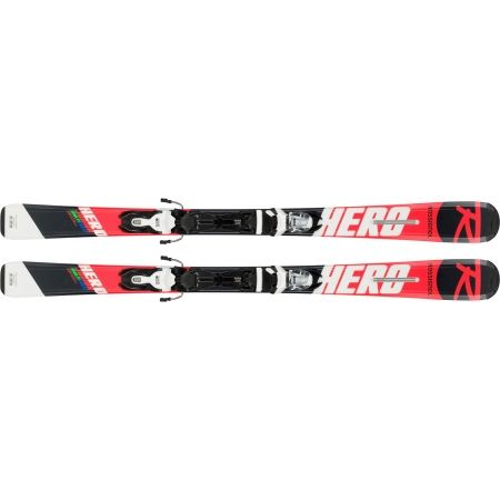 Detské zjazdové lyže - Rossignol HERO JR + XPRESS JR 7 - 2
