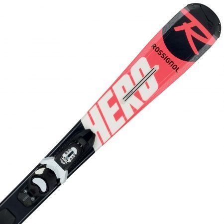 Juniorské sjezdové lyže - Rossignol HERO JR + KID-X 4 B76 - 1