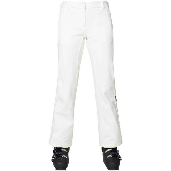 Rossignol SKI SOFTSHELL W biela XL - Dámske lyžiarske nohavice