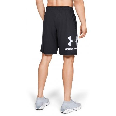 Pánske šortky - Under Armour SPORTSTYLE COTTON GRAPHIC SHORT - 4