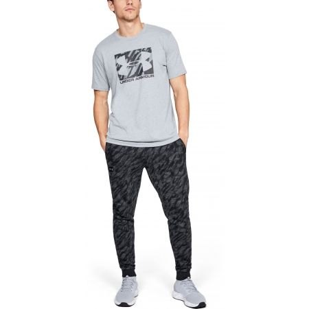 Men's T-shirt - Under Armour UA BOXED SPORTSTYLE SS - 5