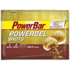 Powerbar GEL SHOTS COLA+KOFEIN 60G