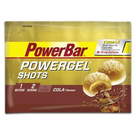Energetický gel - Powerbar GEL SHOTS COLA+KOFEIN 60G