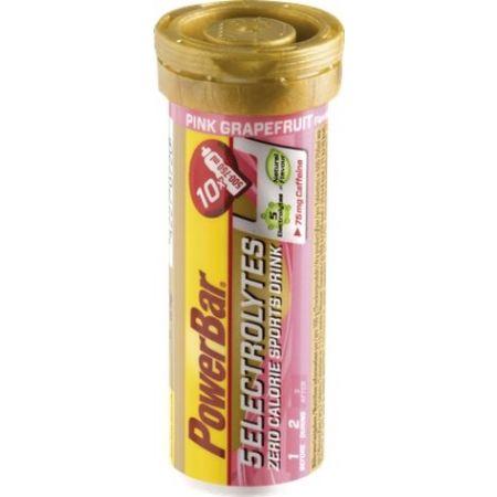 Rozpustné tablety - Powerbar ELEKTOLYTE RŮŽ. GREP+KOFEIN
