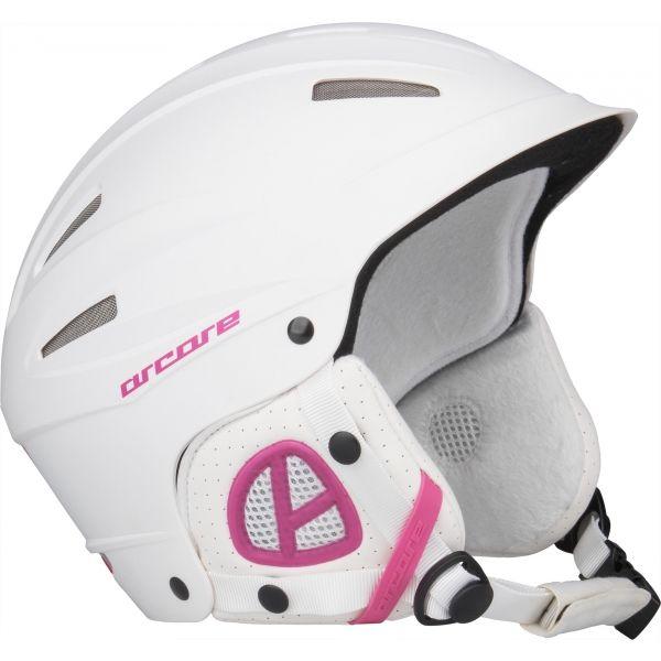 Arcore GAD biały (51 - 53) - Kask narciarski