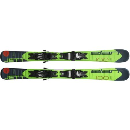 Chlapčenské zjazdové lyže - Elan JETT QS + EL 7.5 - 2