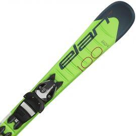 Elan JETT QS + EL 7.5 - Chlapčenské zjazdové lyže