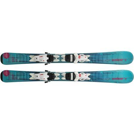 Dívčí sjezdové lyže - Elan STARR QS + EL 7.5 - 3