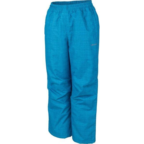 Lewro NOY modrá 140-146 - Detské zateplené nohavice