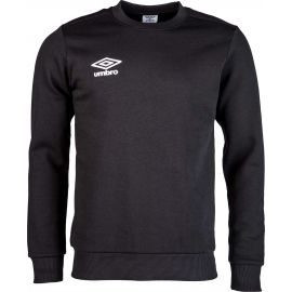 Umbro FLEECE SMALL LOGO CREW - Pánsky sveter