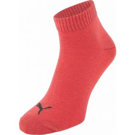 Unisex ponožky - Puma QUARTER PLAIN 3P - 1