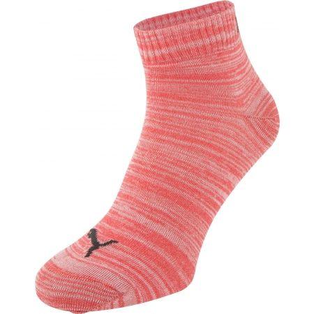 Unisex ponožky - Puma QUARTER PLAIN 3P - 2