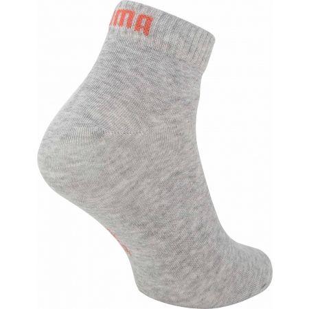 Unisex ponožky - Puma QUARTER PLAIN 3P - 4