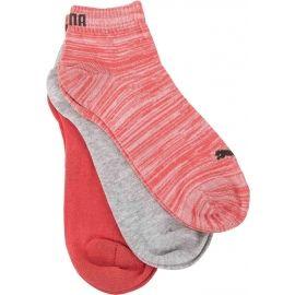 Puma QUARTER PLAIN 3P - Unisex socks