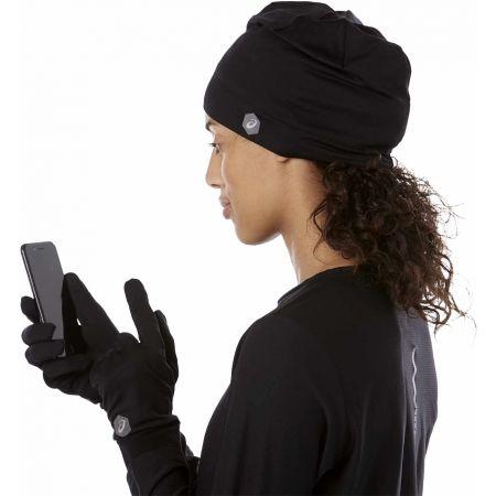 Čepice + rukavice - Asics RUNNING PACK - 6