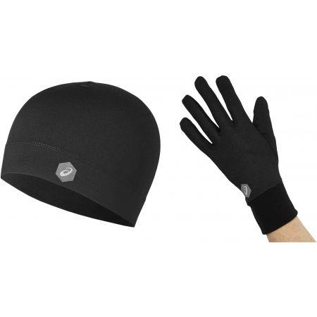 Asics RUNNING PACK - Čepice + rukavice
