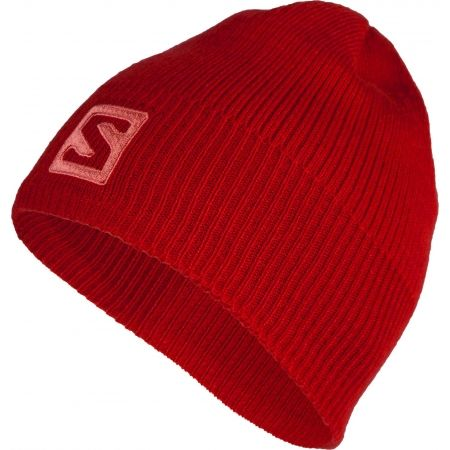 Зимна шапка - Salomon LOGO BEANIE - 1