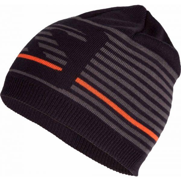 Salomon FLATSPIN SHORT BEANIE černá UNI - Zimní čepice