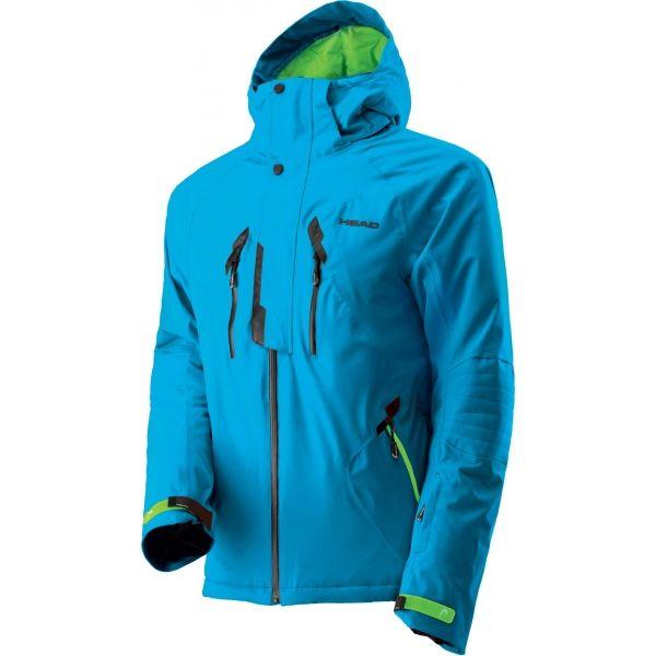 Head CLASSIC JACKET modrá M - Pánská lyžařská bunda
