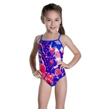 Dievčenské plavky - Speedo SHELL BELL BOW SUIT - 2