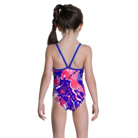 Dievčenské plavky - Speedo SHELL BELL BOW SUIT - 3