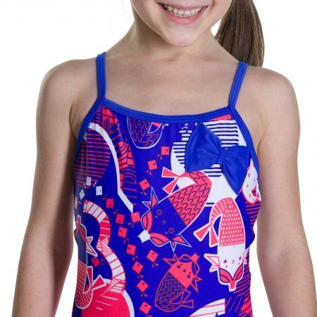 Dievčenské plavky - Speedo SHELL BELL BOW SUIT - 4