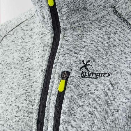 Мъжки outdoor пуловер - Klimatex KADRAT - 3