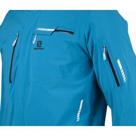 Мъжко скиорско яке - Salomon BRILLIANT JKT M - 4