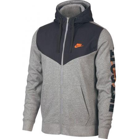 Pánská mikina - Nike NSW HBR+HOODIE FZ FLC - 1