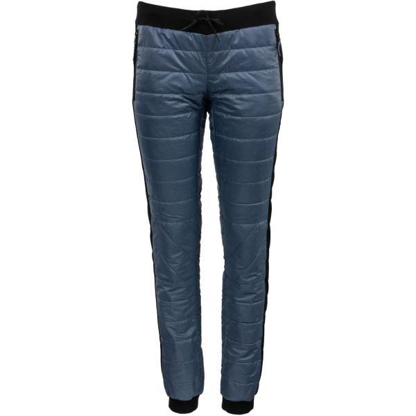 ALPINE PRO PLUMA niebieski L - Spodnie ocieplane damskie
