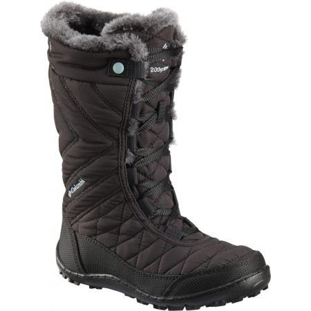Columbia YOUTH MINX MID III WP OMNI-HEAT - Dievčenská zimná obuv