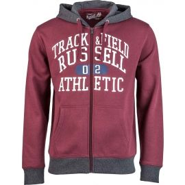 Russell Athletic ZIP THROUGH HOODY WITH GRAPHIC PRINT - Hanorac bărbați