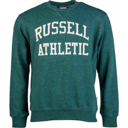 Hanorac de bărbați - Russell Athletic CREW NECK TACKLE TWILL SWEATSHIRT - 1