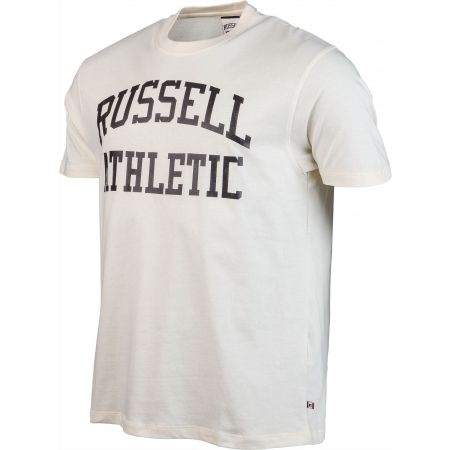 Men's T-shirt - Russell Athletic S/S CREW NECK  TEE WITH LOGO PRINT - 2
