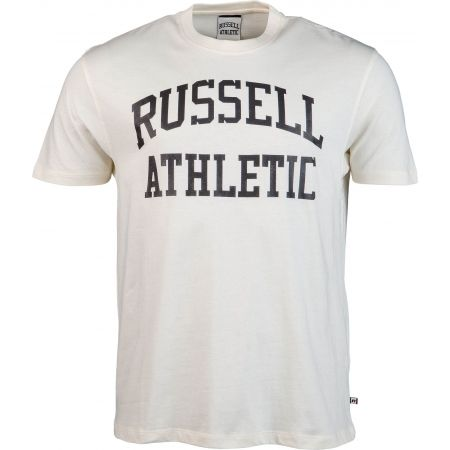 Men's T-shirt - Russell Athletic S/S CREW NECK  TEE WITH LOGO PRINT - 1