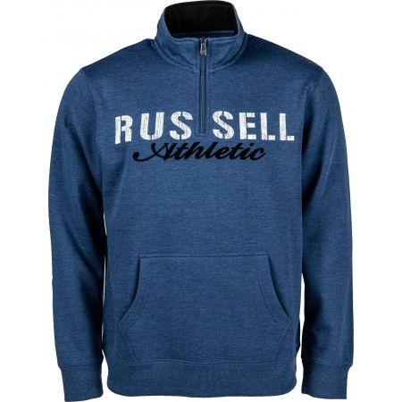 Férfi pulóver - Russell Athletic FÉRFI PULÓVER 1/2 ZIP - 1
