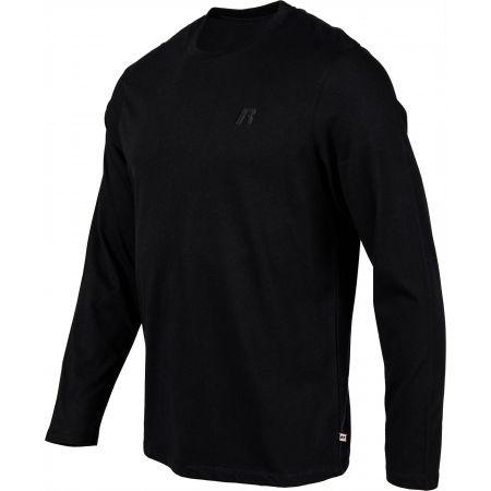 Pánske tričko - Russell Athletic PÁNSKE TRIČKO DLHÝ RUKÁV - 2
