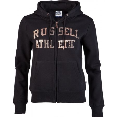 Hanorac damă - Russell Athletic ZIP THROUGH LOGO HOODY - 1